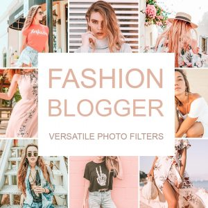 Fashion Blogger Lightroom presets