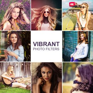 Vibrant Blogger Lightroom Presets