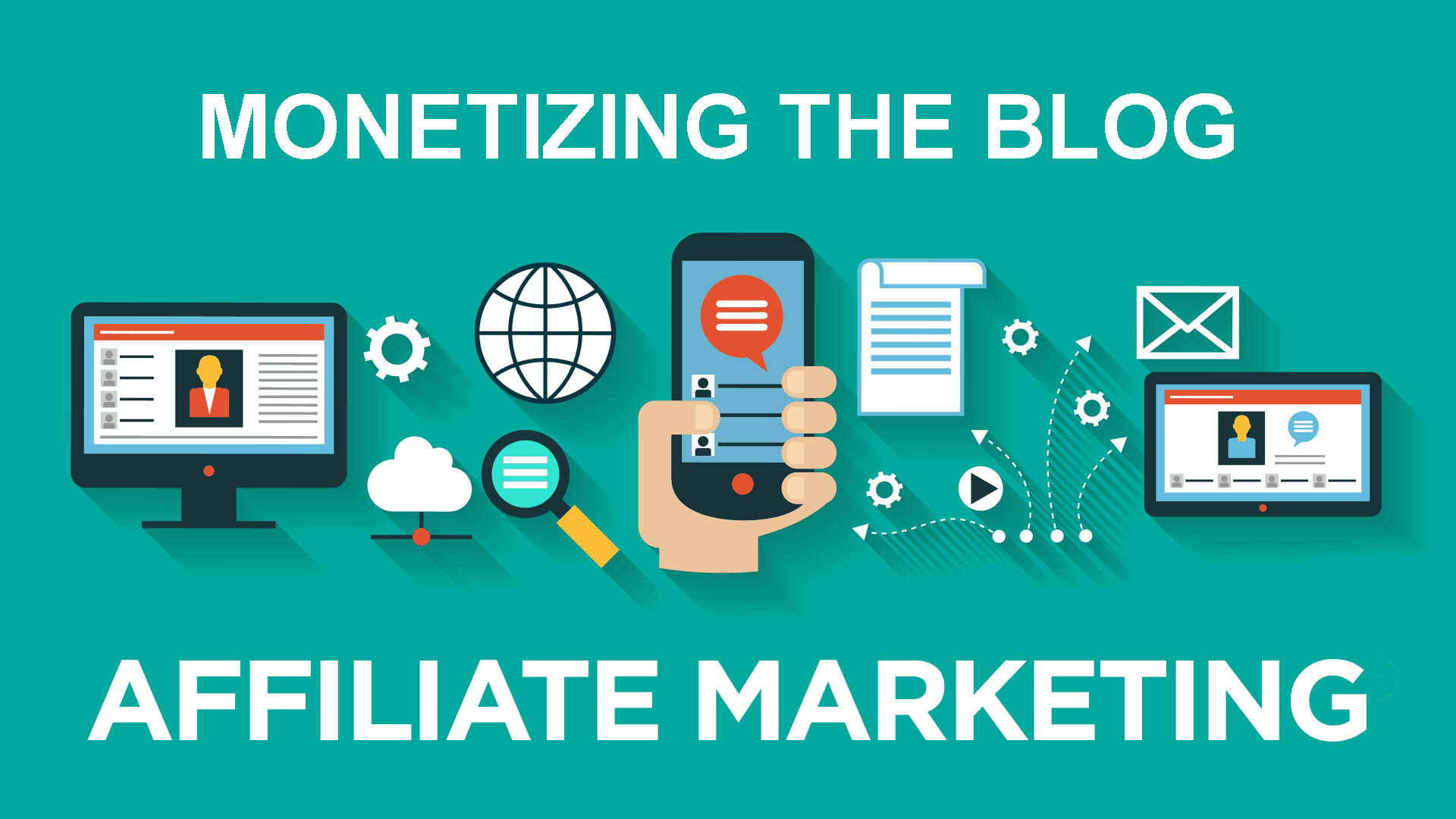 Monetizing the Blog through affiliate products