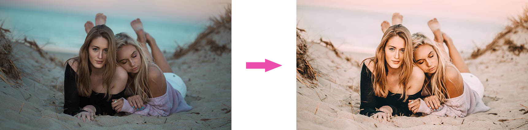 Transform your photo with TRB7 Lightroom presets