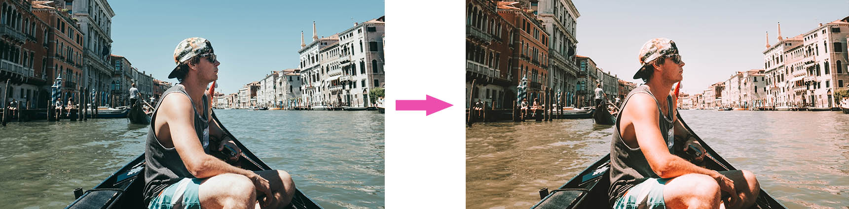 Transform your photo with Lightroom presets