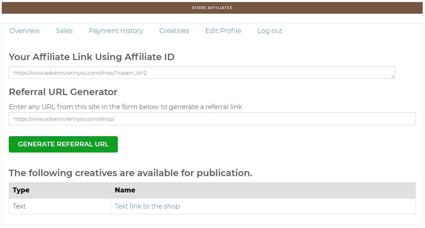 How To Use My Affiliate Program 2